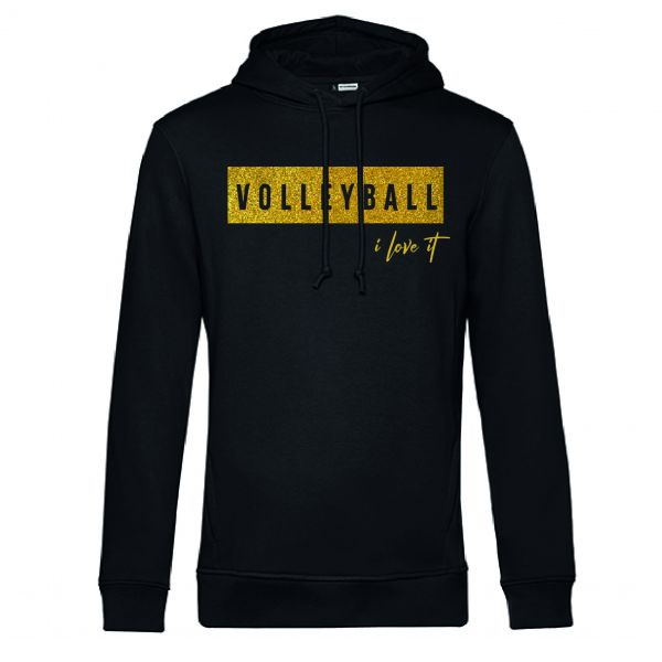 """Hoodie Volleyball """"I LOVE IT"""""""