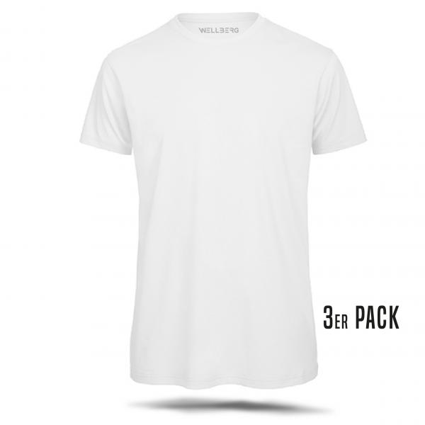 Herren T Shirt 3er Pack