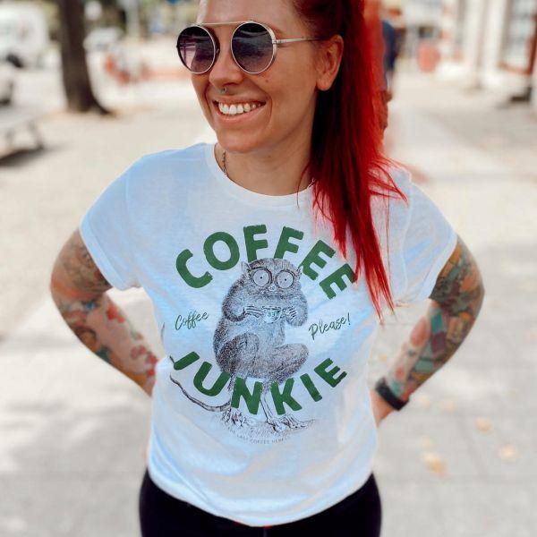 T Shirt COFFE JUNKIE